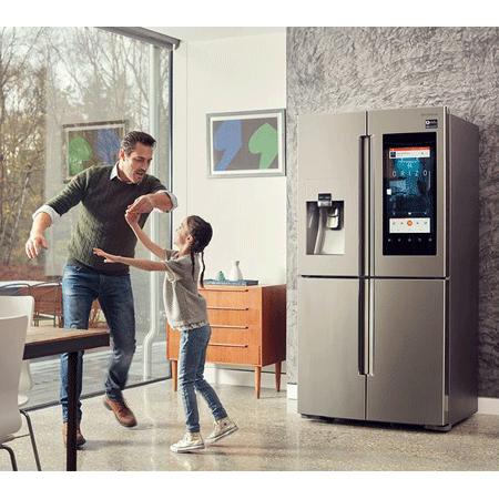 Samsung Rf56m9540sr Family Hub Side By Side Fridge