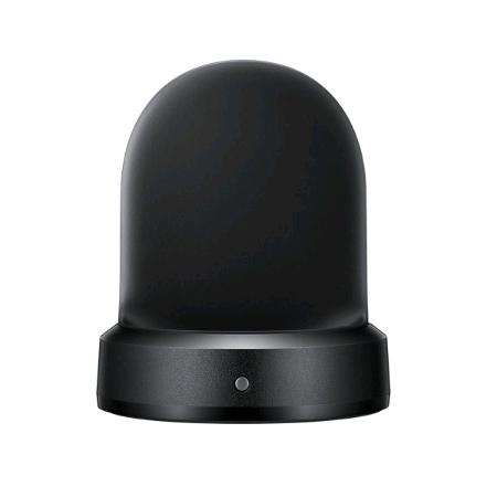 SAMSUNG EPOR720BBEGWW, Samsung Gear S2 Wireless Charger Dock (Black) Smart Home Accessory