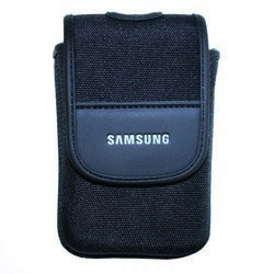 SAMSUNG EZCPOUC052, Soft Black Compact Case with Magnetic Fastening