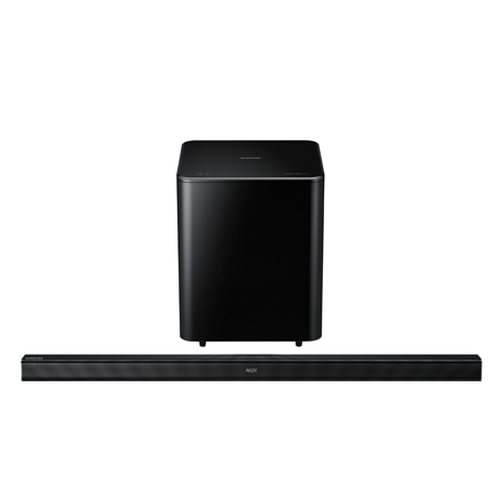 SAMSUNG HWF550, 2.1ch Soundbar for 46 TVs and above.