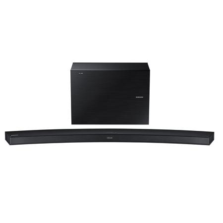 SAMSUNG HWJ6500R, 2.1 Ch Curved Wireless Multiroom Soundbar with Subwoofer - Black