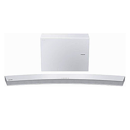 SAMSUNG HWJ6502, 6.1 Ch 300 W Curved Wireless Multiroom  Soundbar - White