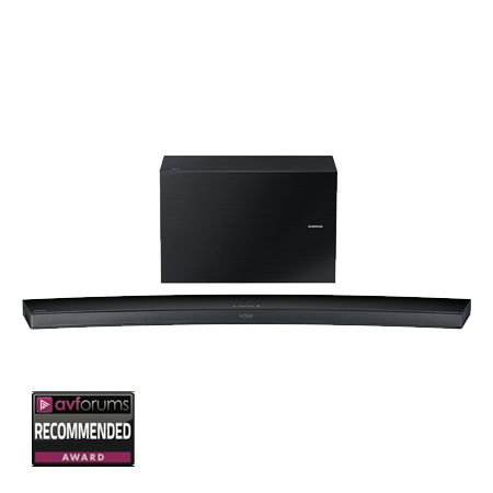 SAMSUNG HWJ7500R, Curved Wireless  Bluetooth 8.1 Ch Soundbar - Black