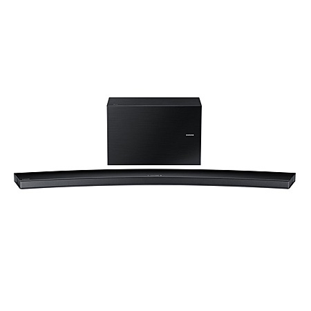 SAMSUNG HWJ8500, Curved Wireless Multi Room 9.1 Ch 350 W Soundbar - Black. Ex-Display Model.