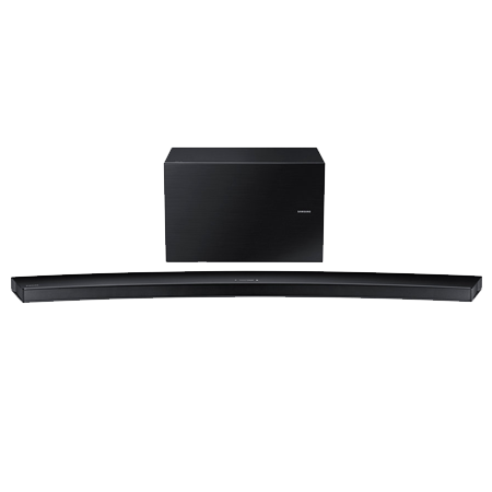 SAMSUNG HWJ8500R, 5.1 Ch Curved Wireless Multiroom Soundbar with Subwoofer - Black