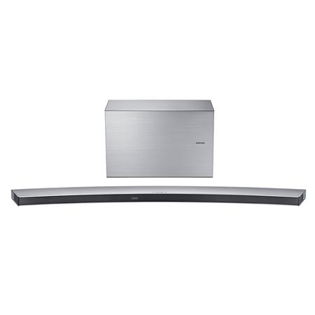 SAMSUNG HWJ8501R, 5.1 Ch Curved Wireless Multiroom Soundbar with Subwoofer - Silver