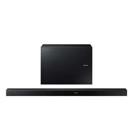 SAMSUNG HWK550, 3.1 Ch Wireless Sound Bar with Wireless Subwoofer - Black