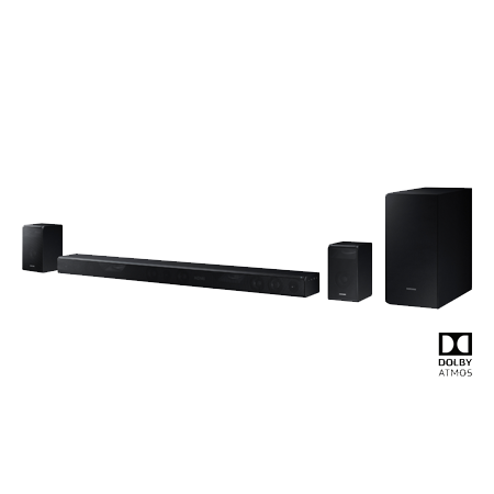 SAMSUNG HWK950, 5.1.Ch Wireless Soundbar, Surround Sound with Dolby Atmos & 6 Sound Modes