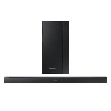 SAMSUNG HWM360, Smart Bluetooth 2.1 Ch Soundbar with Wireless Subwoofer in Black