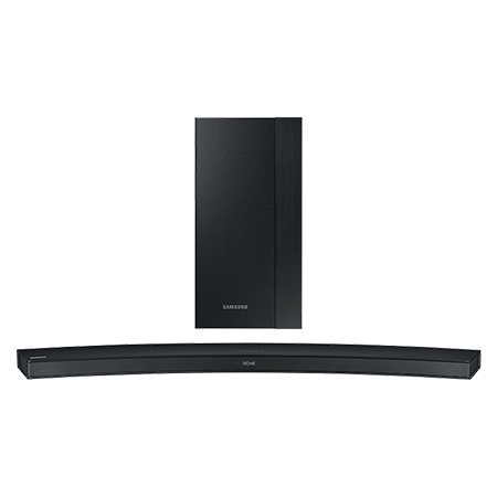 SAMSUNG HWM4500, Smart Bluetooth 2.1 Ch Curved Soundbar with Wireless Subwoofer in Black.Ex-Display Model