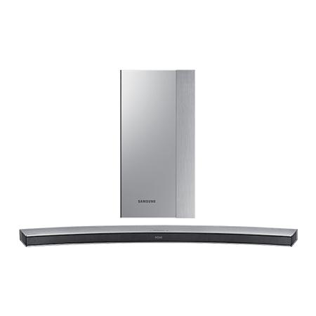 SAMSUNG HWM4501, Smart Bluetooth 2.1 Ch Curved Soundbar with Wireless Subwoofer in Silver