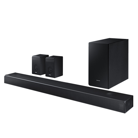 SAMSUNG HWN950, 7.1 ch Dolby Atmos Soundbar with Wireless Subwoofer and bluetooth