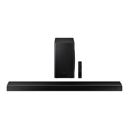 SAMSUNG HWQ60T, Wireless Flat Soundbar + Subwoofer - Black