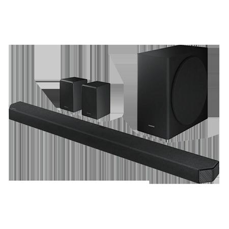 SAMSUNG HWQ950T, Wireless Flat Soundbar + Subwoofer - Black