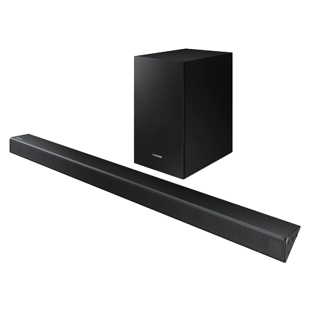 SAMSUNG HWR530, 2.1ch Flat Soundbar with wireless Subwoofer with Built in Bluetooth in Black