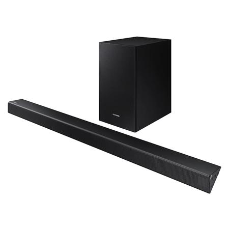 SAMSUNG HWR550, Flat Soundbar  + Subwoofer, 4 Built-In Speakers