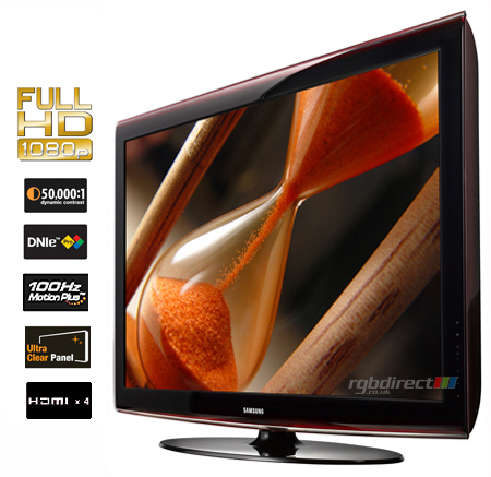 SAMSUNG LE40A656A1FXXU, 40 Series 6 Full HD 1080p LCD TV with Integrated Digital Tuner