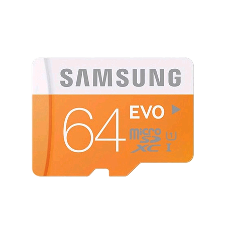 SAMSUNG MBMP64DAEU, Samsung EVO 64 GB microSDXC Card (SD Adapter) (64GB) Memory Card