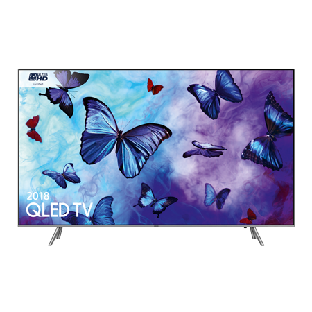 SAMSUNG QE55Q6FNA, 55 Series 6 Smart QLED Certified Ultra HD 4K TV with Built-in Wifi