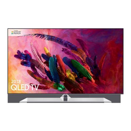 SAMSUNG QE55Q7FNA, 55 Series 7 Smart QLED 4K Ultra HD Premium Certified 4K TV with Built-in Wifi & Silver Bezel