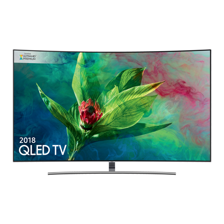 SAMSUNG QE55Q8CNA, 55 Series 8 Smart Curved QLED 4K Ultra HD Premium Certified 4K TV with Built-in Wifi