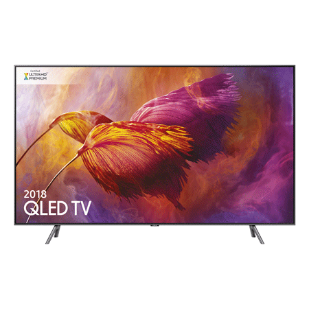 SAMSUNG QE55Q8DNA, 55 Series 8 Smart QLED 4K Ultra HD Premium Certified 4K TV with Built-in Wifi.Ex-Display Model