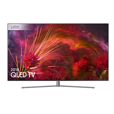 SAMSUNG QE55Q8FNA, 55 inch Series 8 Smart QLED 4K Ultra HD Premium Certified 4K TV with Built-in Wifi.Ex-Display Model