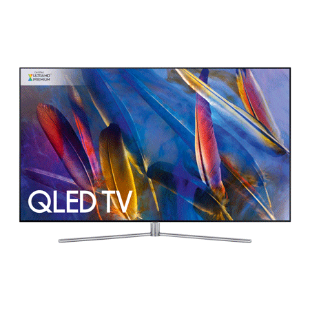 SAMSUNG QE65Q7FAM, 65 Series 7 Smart QLED Certified Ultra HD Premium 4K TV with Built-in Wifi & TVPlus tuner.Ex-Display Model