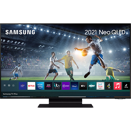 SAMSUNG QE65QN90A, 65 inch Neo QLED 4K TV Black with Freeview