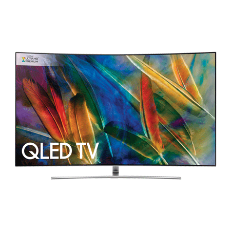 SAMSUNG QE75Q8CAM, 75 Series 7 Smart Curved QLED Certified Ultra HD Premium 4K TV with Built-in Wifi & TVPlus tuner