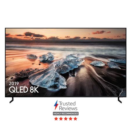 SAMSUNG QE82Q950R, 82 inch Smart 8K HDR Flagship QLED TV with Bixby