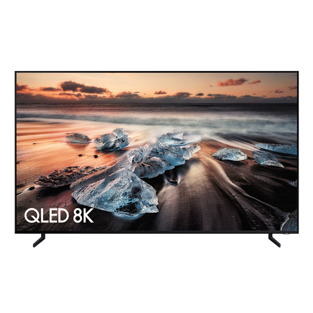 SAMSUNG QE85Q900R, 85 Series 9 Smart QLED 8K TV with HDR & Built-in Wi-Fi