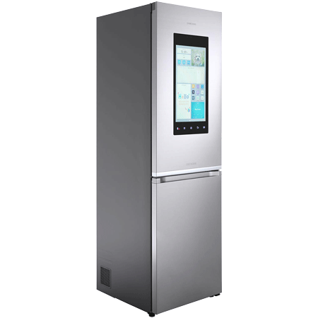 SAMSUNG RB38M7998S4, Family Hub Fridge Freezer Stainless Steel - A++ Rated.Ex-Display Model