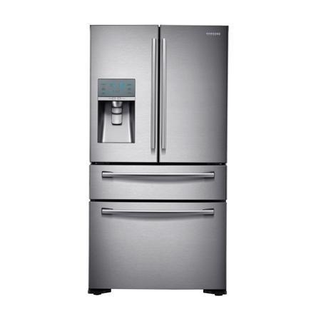 SAMSUNG RF24FSEDBSR, American 4 door fridge freezer with A+ Energy Rating