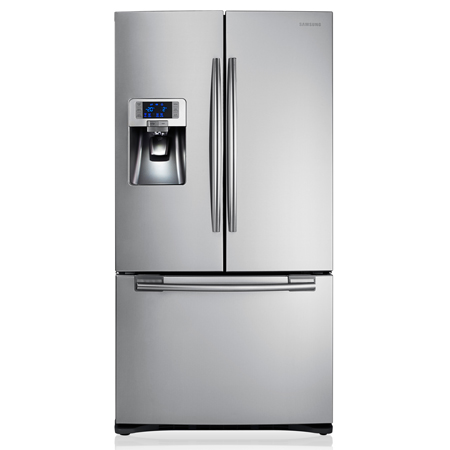 SAMSUNG RFG23UERS1, G Series Three Door Fridge Freezer in Stainless Steel
