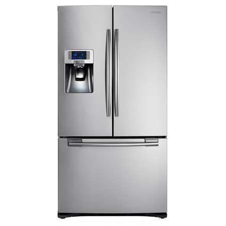 SAMSUNG RFG23UERS1, G Series Three Door Fridge Freezer in Stainless Steel. Ex-Display Model