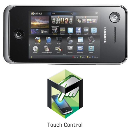 SAMSUNG RMC30D1P2, Smart View Touch Remote