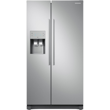 SAMSUNG RS50N3513SA, Side by Side Fridge Freezer in Metal Graphite with A+ Rated Energy