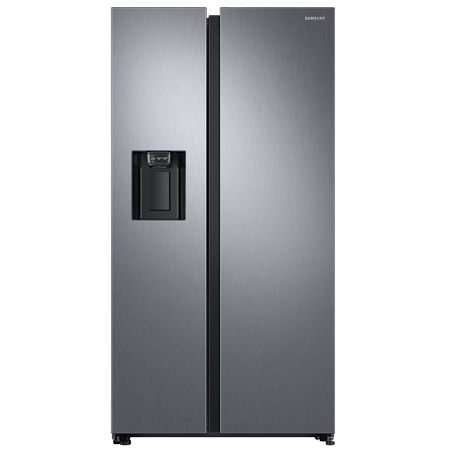 SAMSUNG RS68N8230S9, Side by Side Fridge Freezer in Silver with A+ Rated Energy
