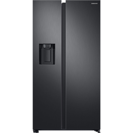 SAMSUNG RS68N8240B1, Side by Side Fridge Freezer in Black with A+ Rated Energy