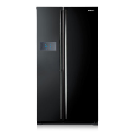 SAMSUNG RS7527BHCBC1, US Style Side by Side Fridge Freezer in Black