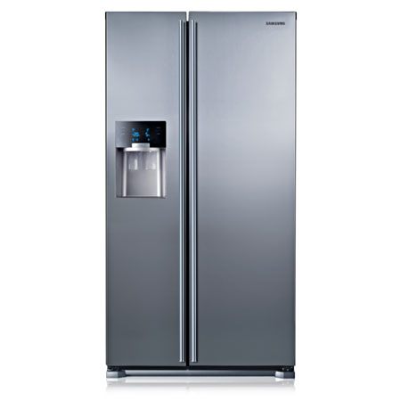 SAMSUNG RS7567BHCSL, US  Style  side by side Stainless Steel Fridge Freezer  with A+ Energy Rating Plumbed