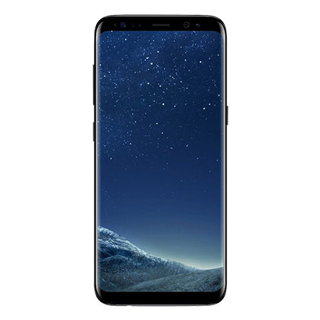 SAMSUNG SMG955FZKABTU, Galaxy S8+ (64GB, Midnight Black Mobile Phone)