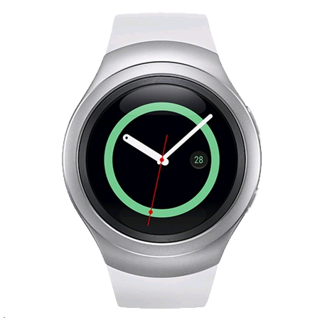 SAMSUNG SMR7200ZWABTU, Samsung Gear S2 Smart Watch (Silver) Wearable