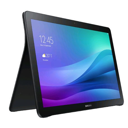 SAMSUNG SMT670NZKABTU, Samsung Galaxy View WiFi Tablet (32GB) in Black