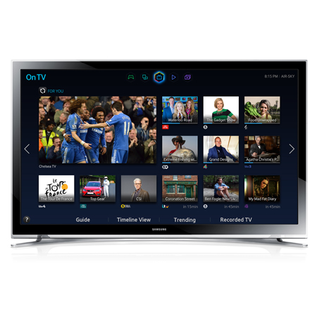 SAMSUNG UE22H5600, 22 Full HD 1080p Smart LED TV with Built-In Wi-Fi and Freeview HD