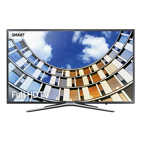 SAMSUNG UE32M5520, 32 inch Full HD 1080p Smart LED TV with TVPlus tuner & Built-in Wi-Fi in Dark Titan