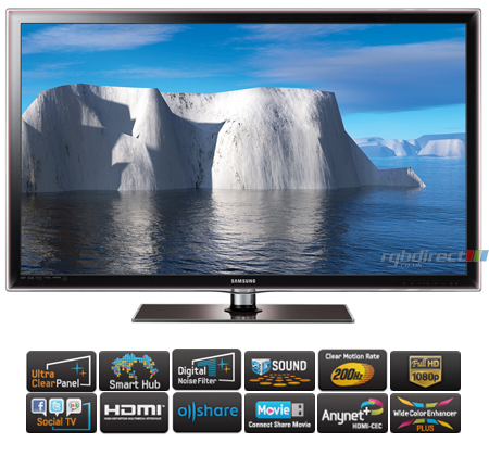 samsung ue40d6100 40 series 6 full hd 1080p smart 3d led tv with