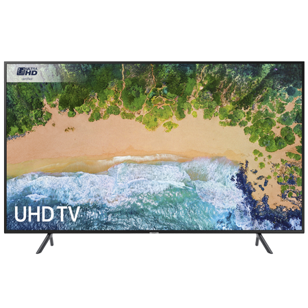 SAMSUNG UE40NU7120, 40 inch Smart Ultra HD Certified 4K HDR 10+ LED TV with Built-in Wi-Fi, TVPlus