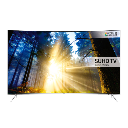 SAMSUNG UE43KS7500, 43 Series 7 Ultra HD 4K SUHD Smart Curved LED TV with Quantum dot display